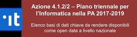 Figura 2: Seconda azione open data del piano triennale per l'informatica nella PA